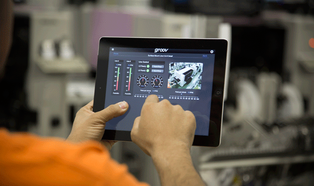 groov View on a tablet