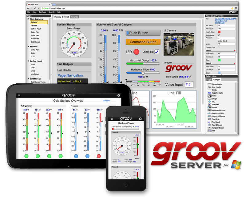 groov Server for Windows