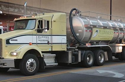 Plummer's Environmental Services truck